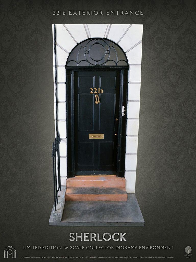 Sherlock Diorama 1/6 221b Entrance 54 cm