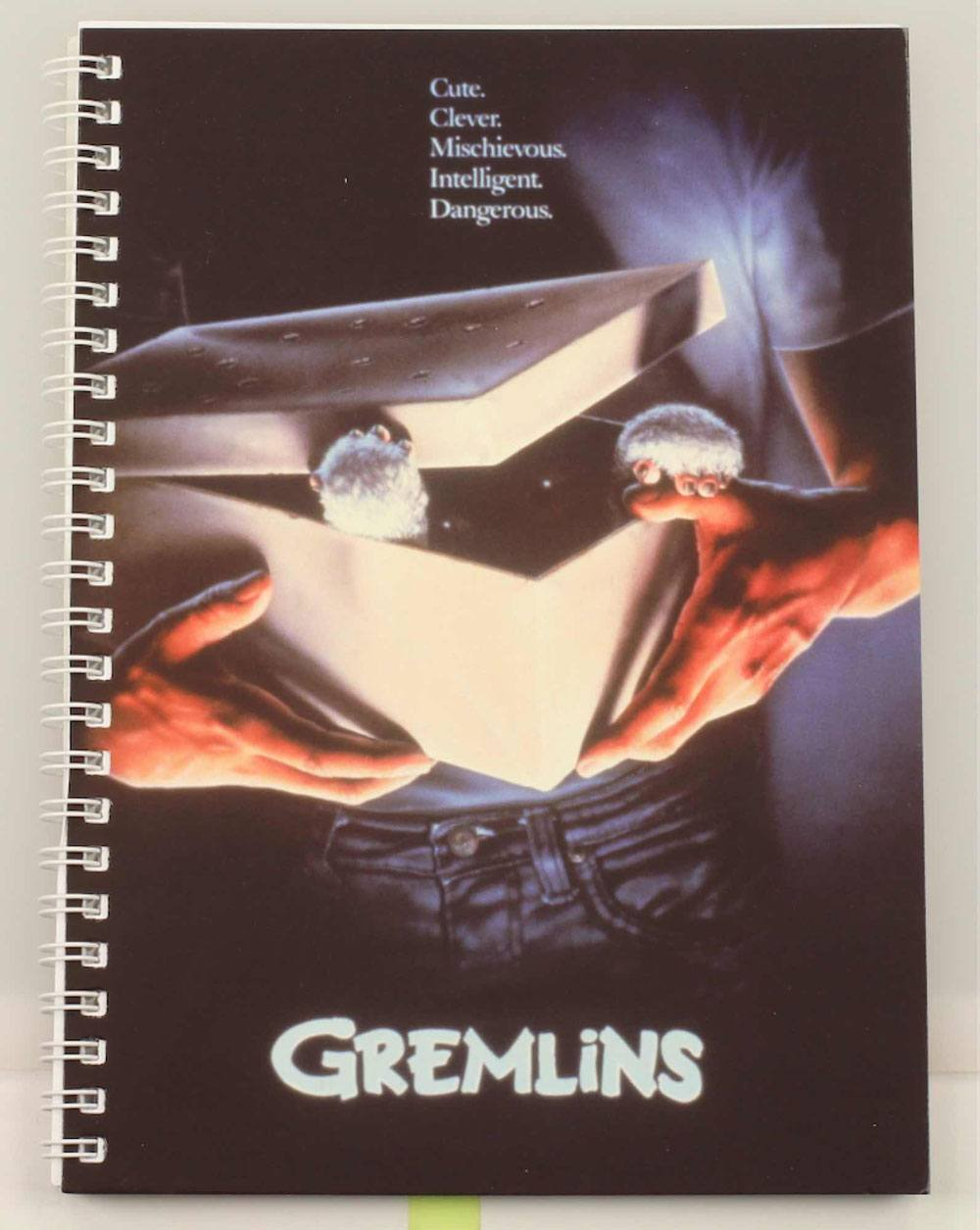 Gremlins Notebook Movie Poster