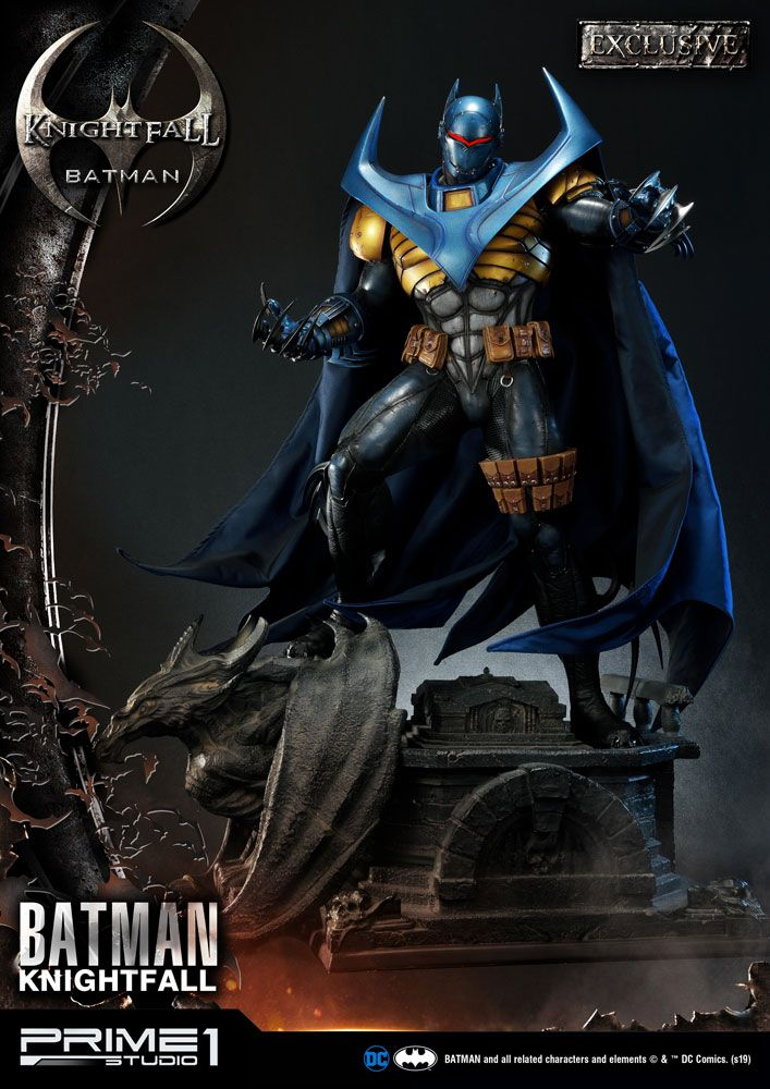 DC Comics Statues Knightfall Batman & Knightfall Batman Exclusive 87 cm Assortment (3)