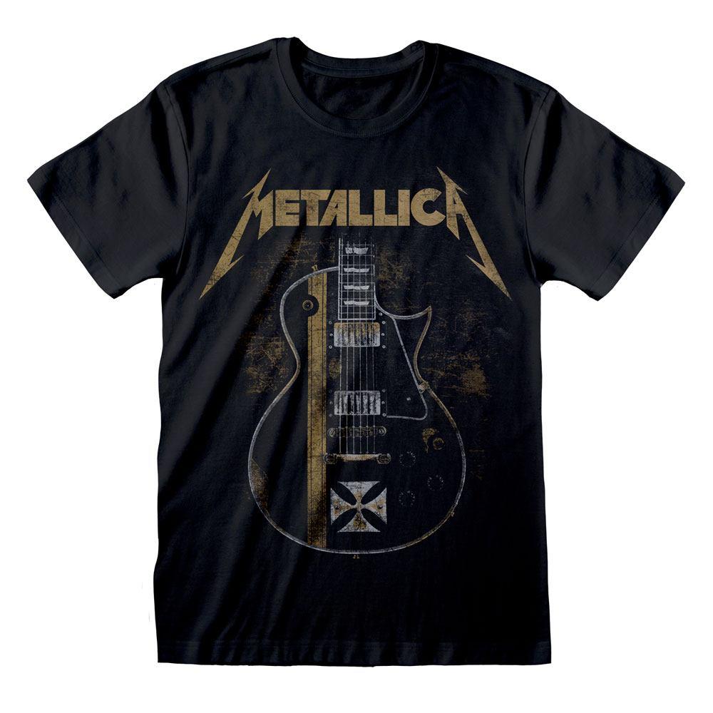 Metallica T-Shirt Hetfield Iron Cross Size L
