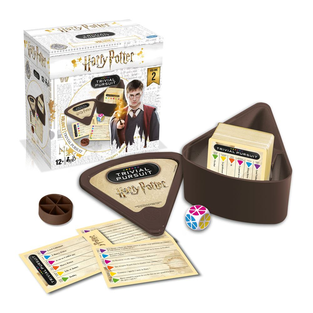 Harry Potter Card Game Trivial Pursuit Voyage Vol. 2 *French Version*