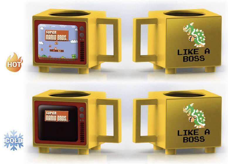 Nintendo Heat Change Mug Super Mario Bros
