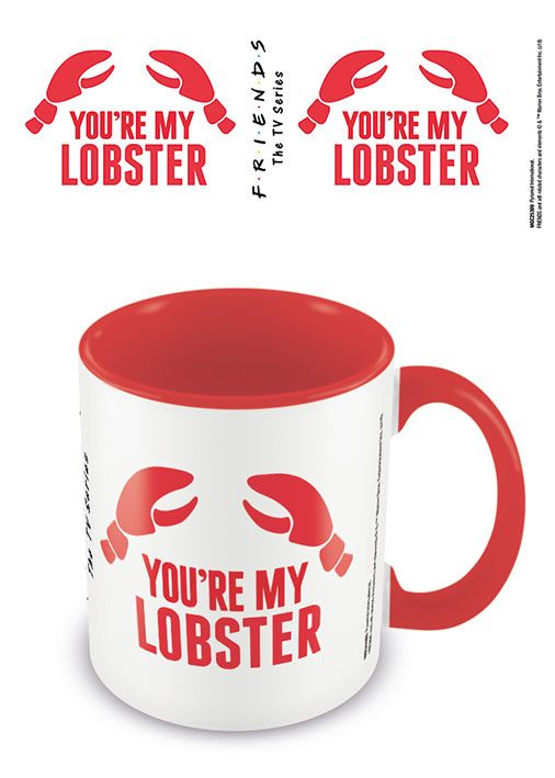 Friends Coloured Inner Mug You're my Lobster