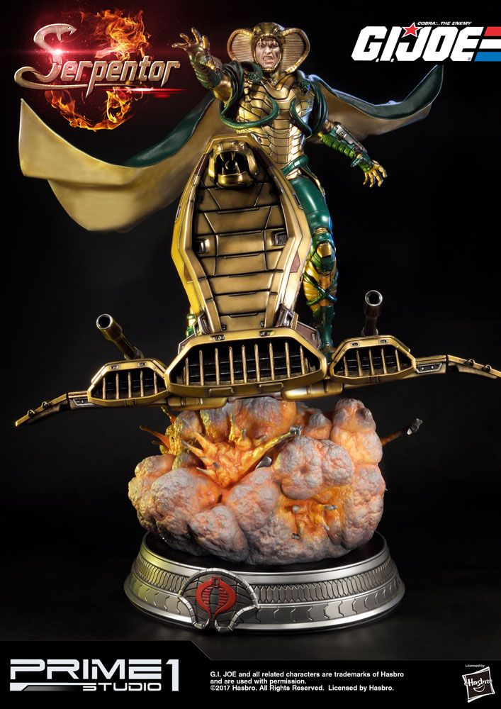 G.I. Joe Statue Serpentor 81 cm