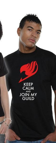 Fairy Tail T-Shirt Keep Calm Size M