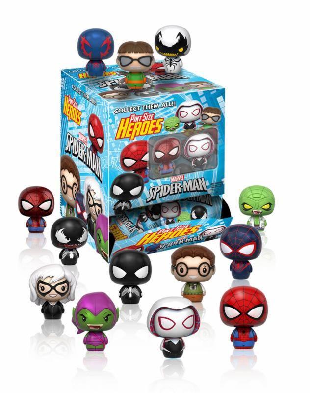Marvel Comics Pint Size Heroes Mini Figures 6 cm Display Spider-Man (24)