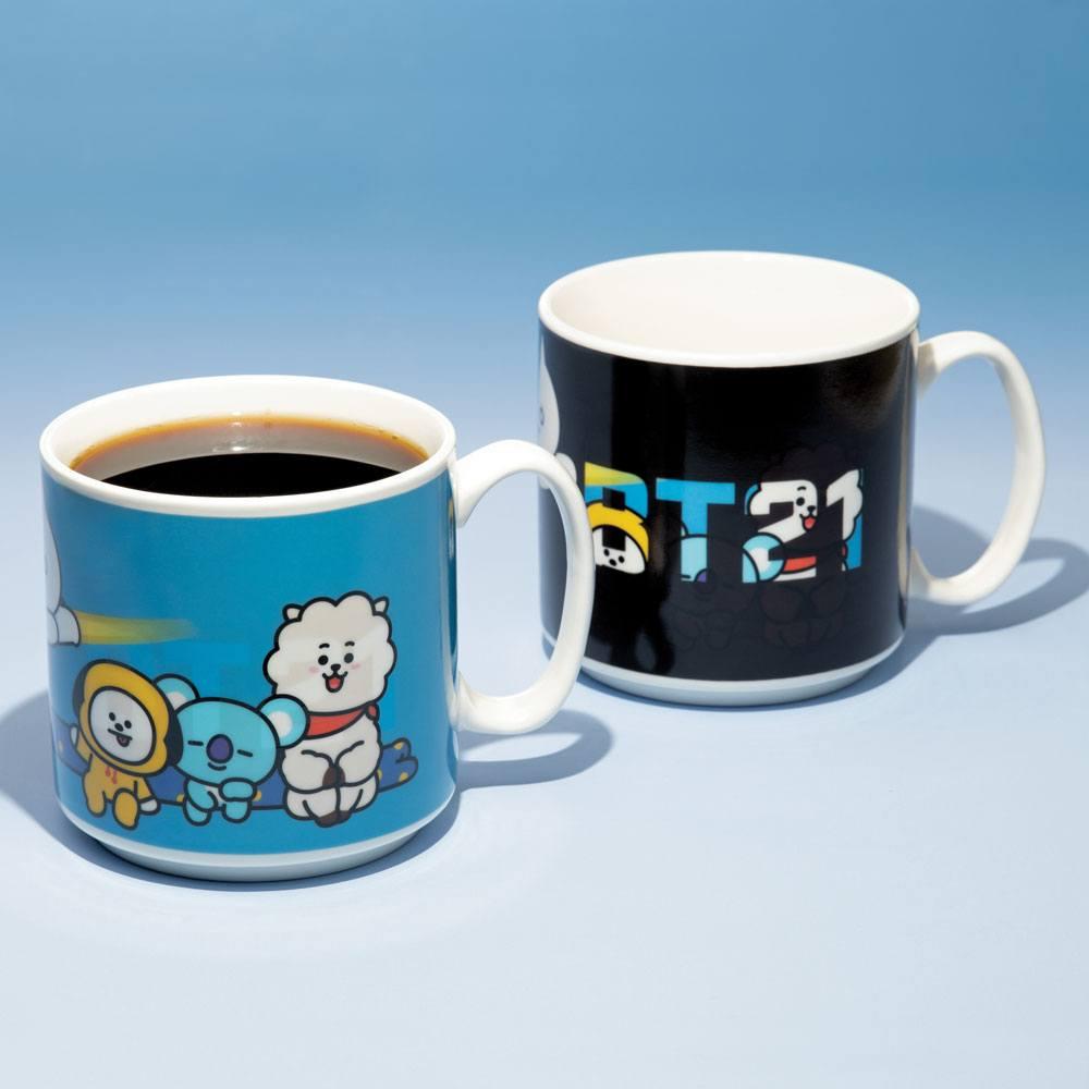 BT21 Heat Change Mug Characters