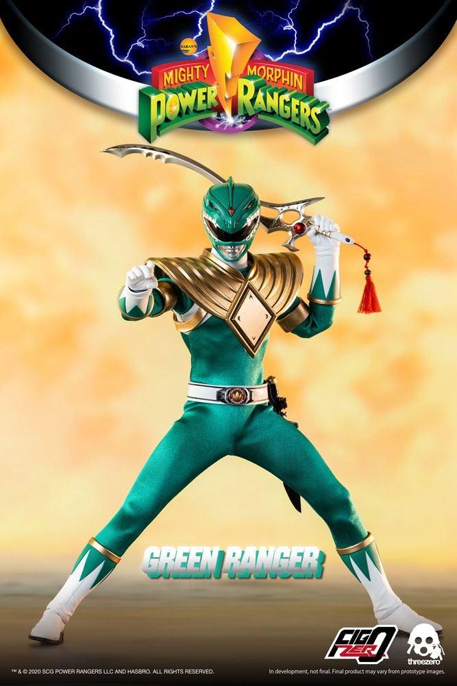 Mighty Morphin Power Rangers FigZero Action Figure 1/6 Green Ranger 30 cm