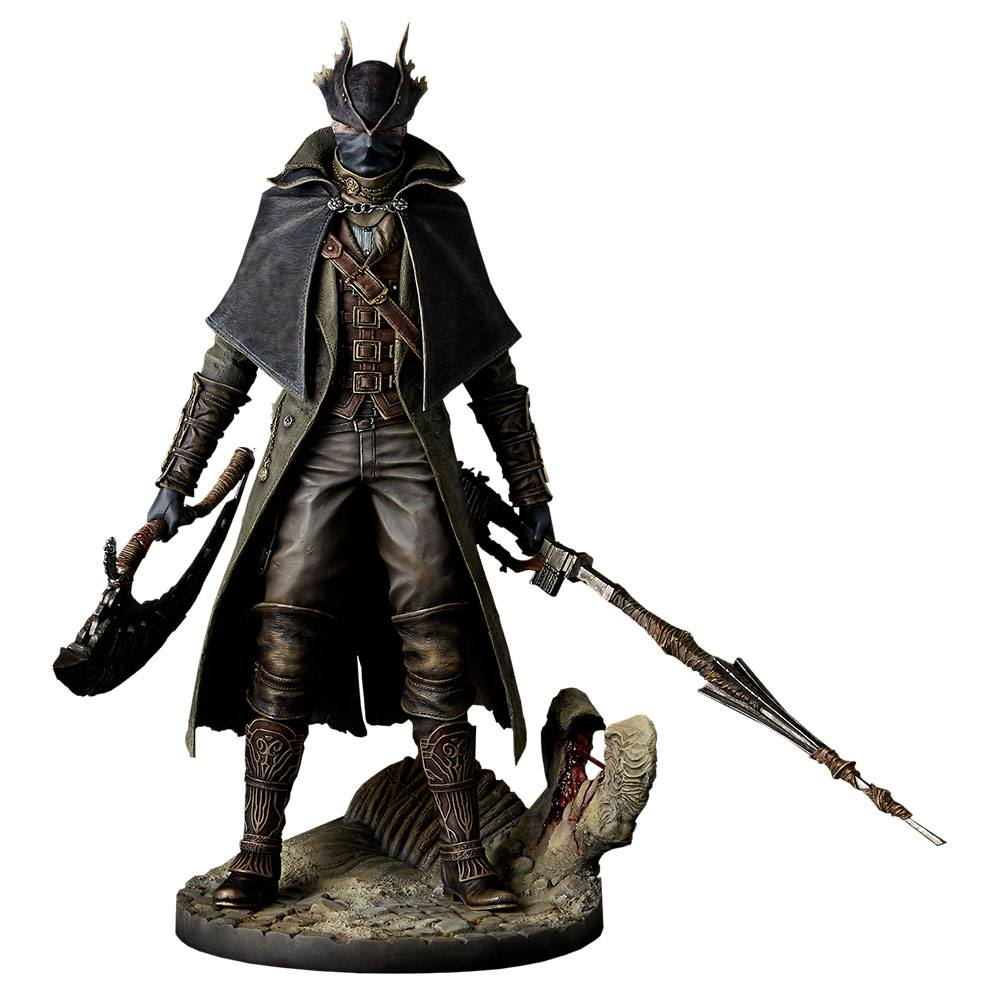 Bloodborne The Old Hunters PVC Statue 1/6 Hunter 32 cm --- DAMAGED PACKAGING