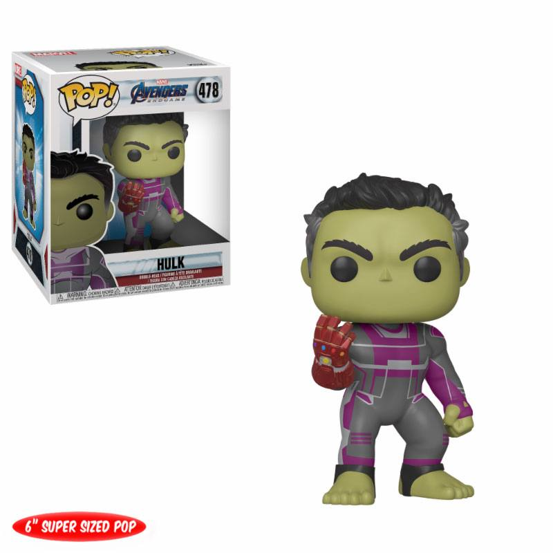 Avengers: Endgame Oversized POP! Movies Vinyl Figure Hulk 15 cm