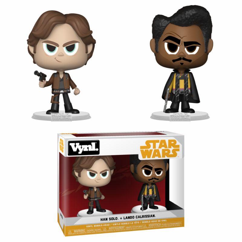 Star Wars Solo VYNL Vinyl Figures 2-Pack Han Solo & Lando Calrissian 10 cm