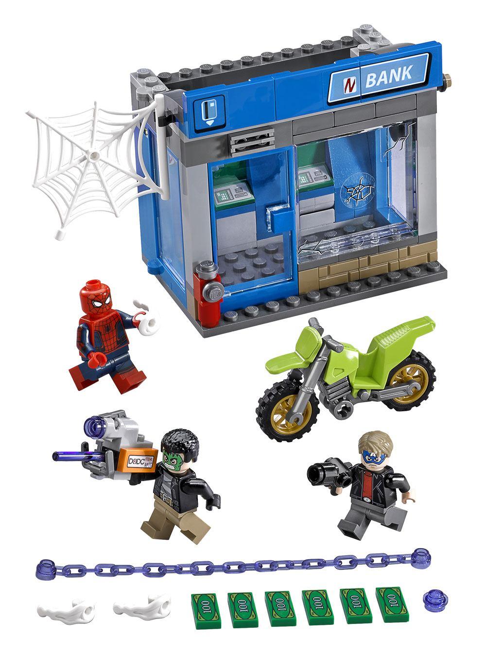LEGO® Marvel Super Heroes™ Spider-Man: Homecoming - ATM Heist Battle