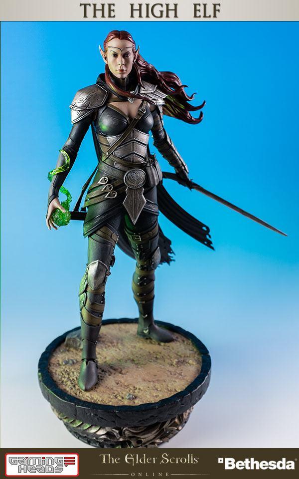 The Elder Scrolls Online Heroes of Tamriel Statue 1/6 The High Elf 41 cm