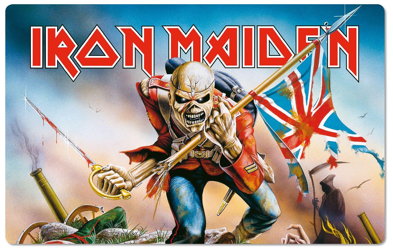 Iron Maiden Cutting Board Trooper