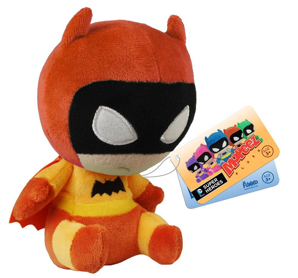 DC Comics Mopeez Plush Figure 75th Anniversary Colorways Orange Batman 12 cm
