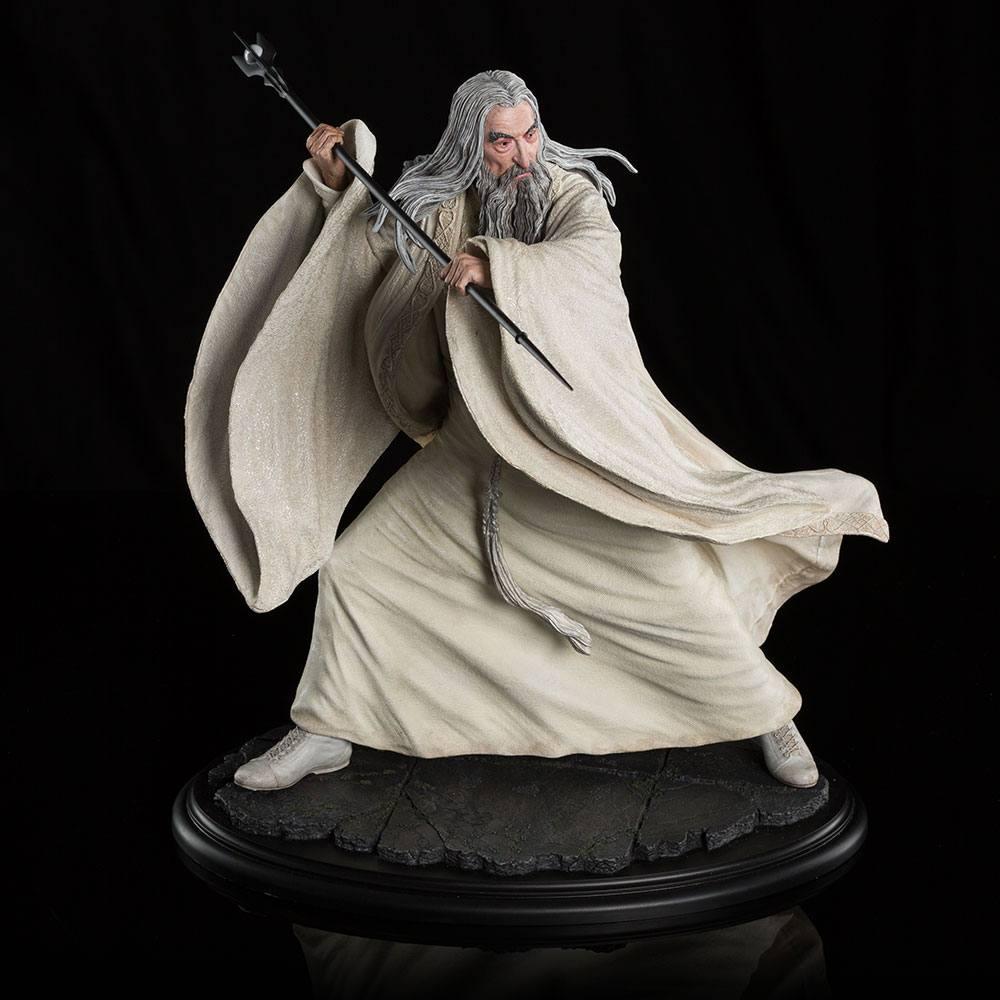 Hobbit The Battle of the Five Armies Statue 1/6 Saruman the White at Dol Guldur 35 cm
