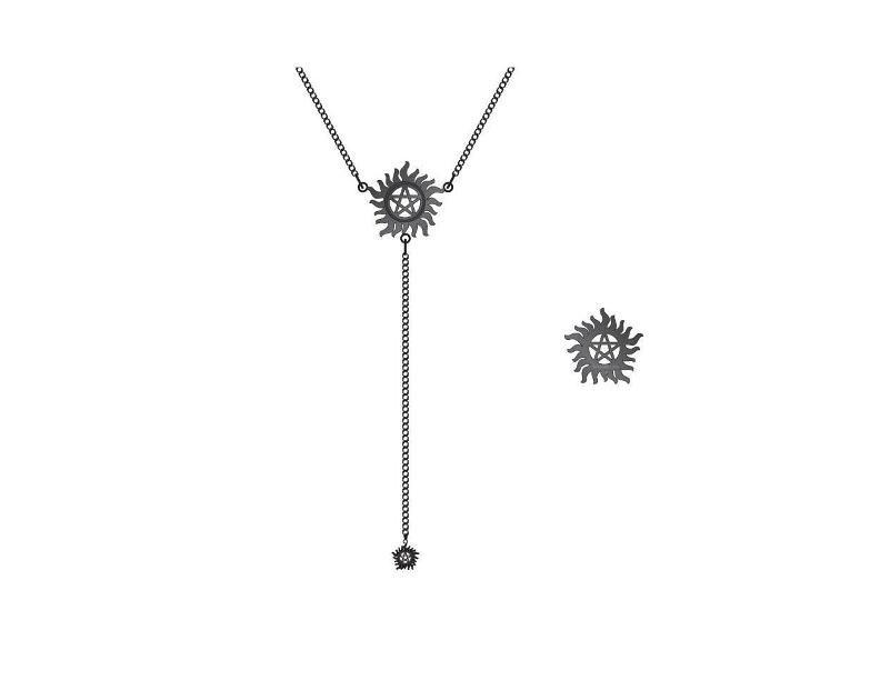 Supernatural Pendant & Necklace Anti Possession