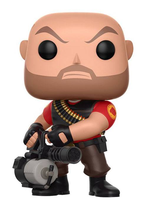 Team Fortress 2 POP! Games Vinyl Figure Heavy 9 cm