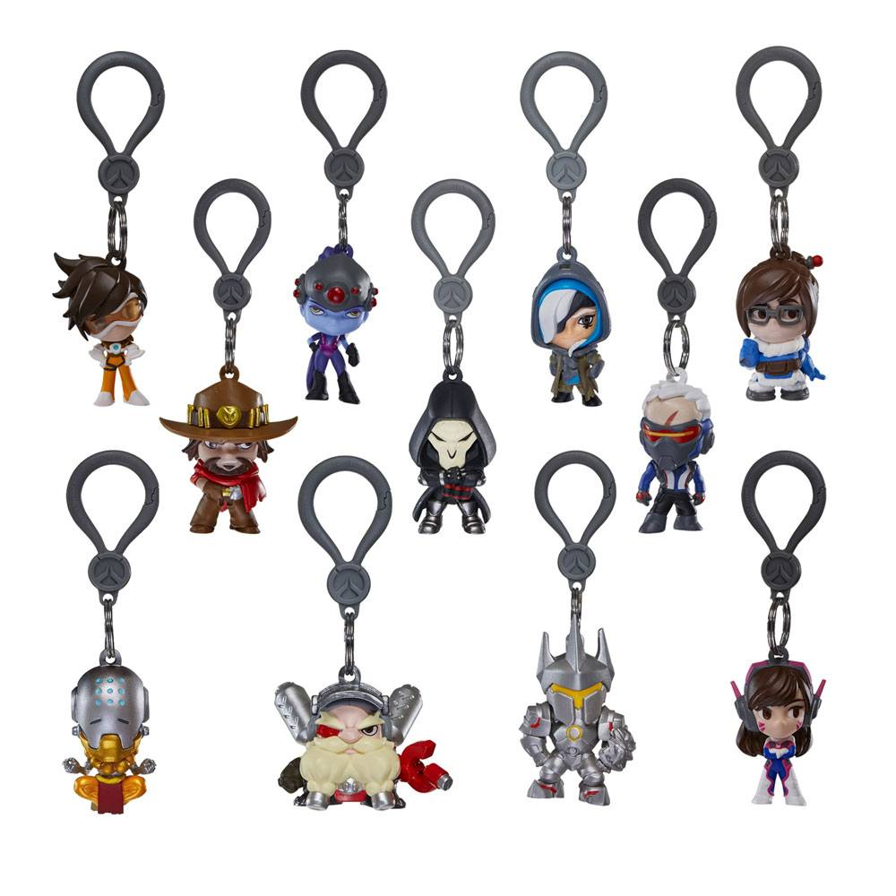 Overwatch Backpack Hangers Mystery Bags Display (24)