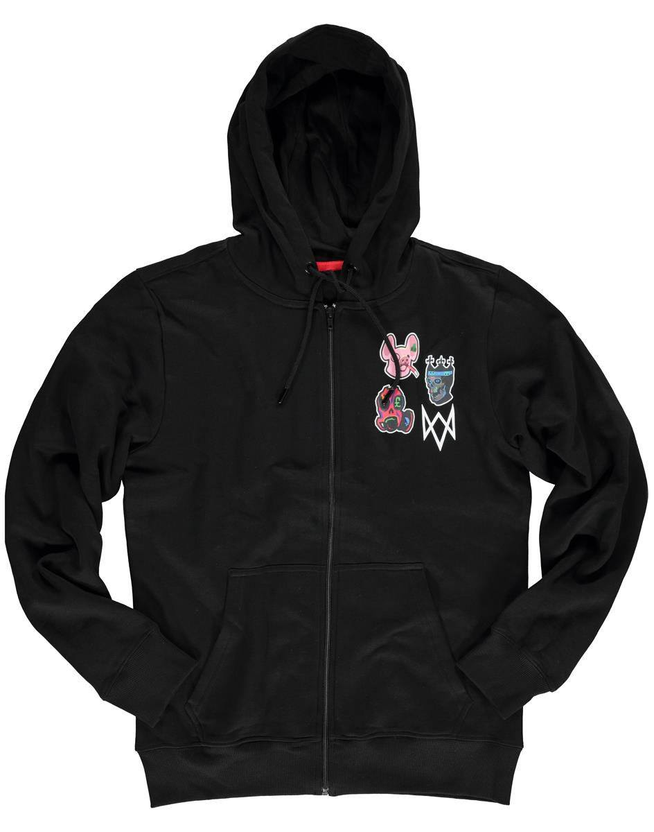 Watch Dogs: Legion Hooded Sweater Icons Size M