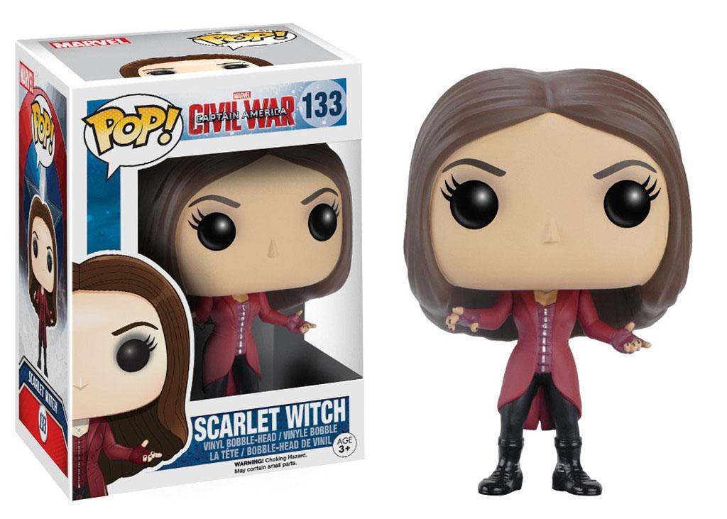 Captain America Civil War POP! Vinyl Bobble-Head Scarlet Witch 10 cm