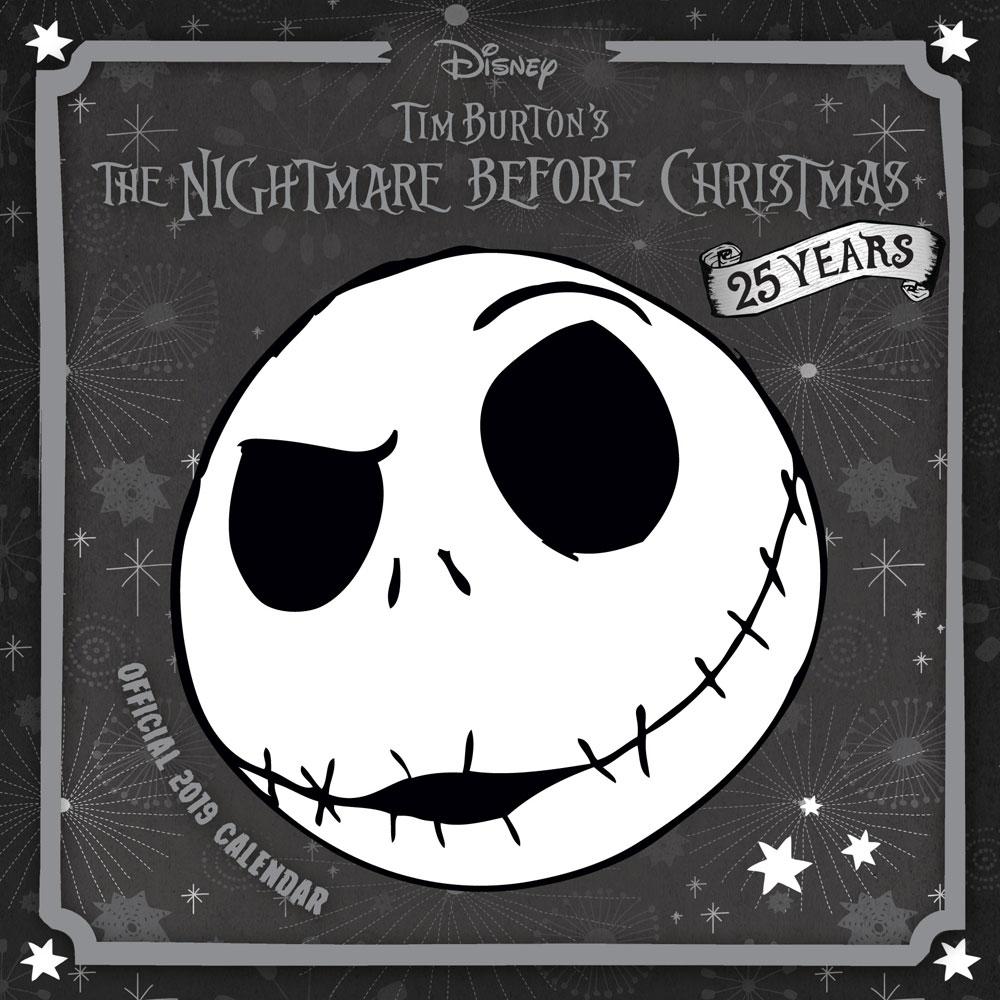 Nightmare before Christmas Calendar 2019 English Version*