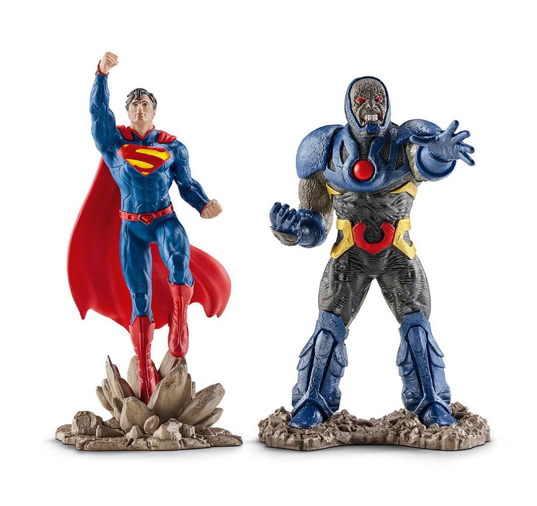 Justice League Figure 2-Pack Superman vs. Darkseid 10 cm