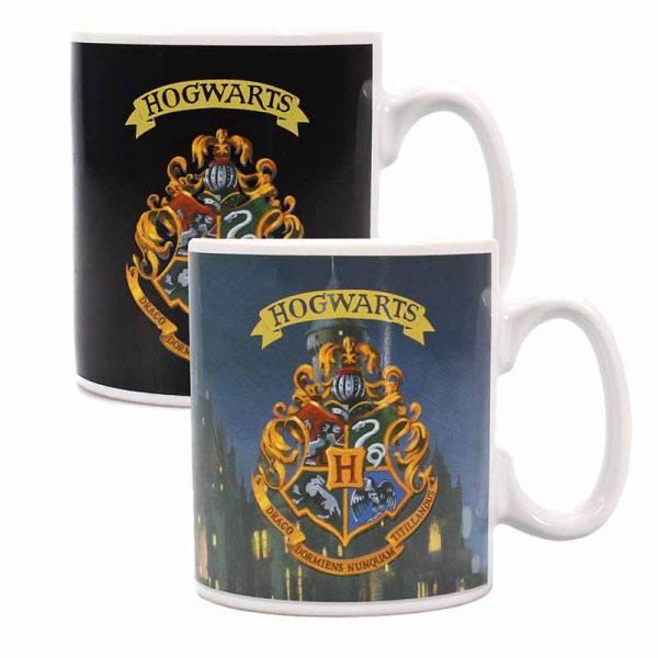 Harry Potter Heat Change Mug Hogwarts Crest