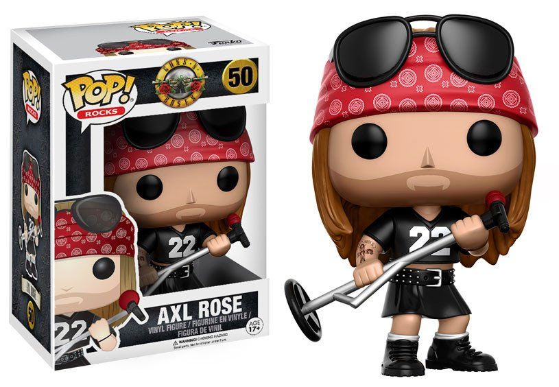 Guns N´ Roses POP! Rocks Vinyl Figure Axl Rose 9 cm