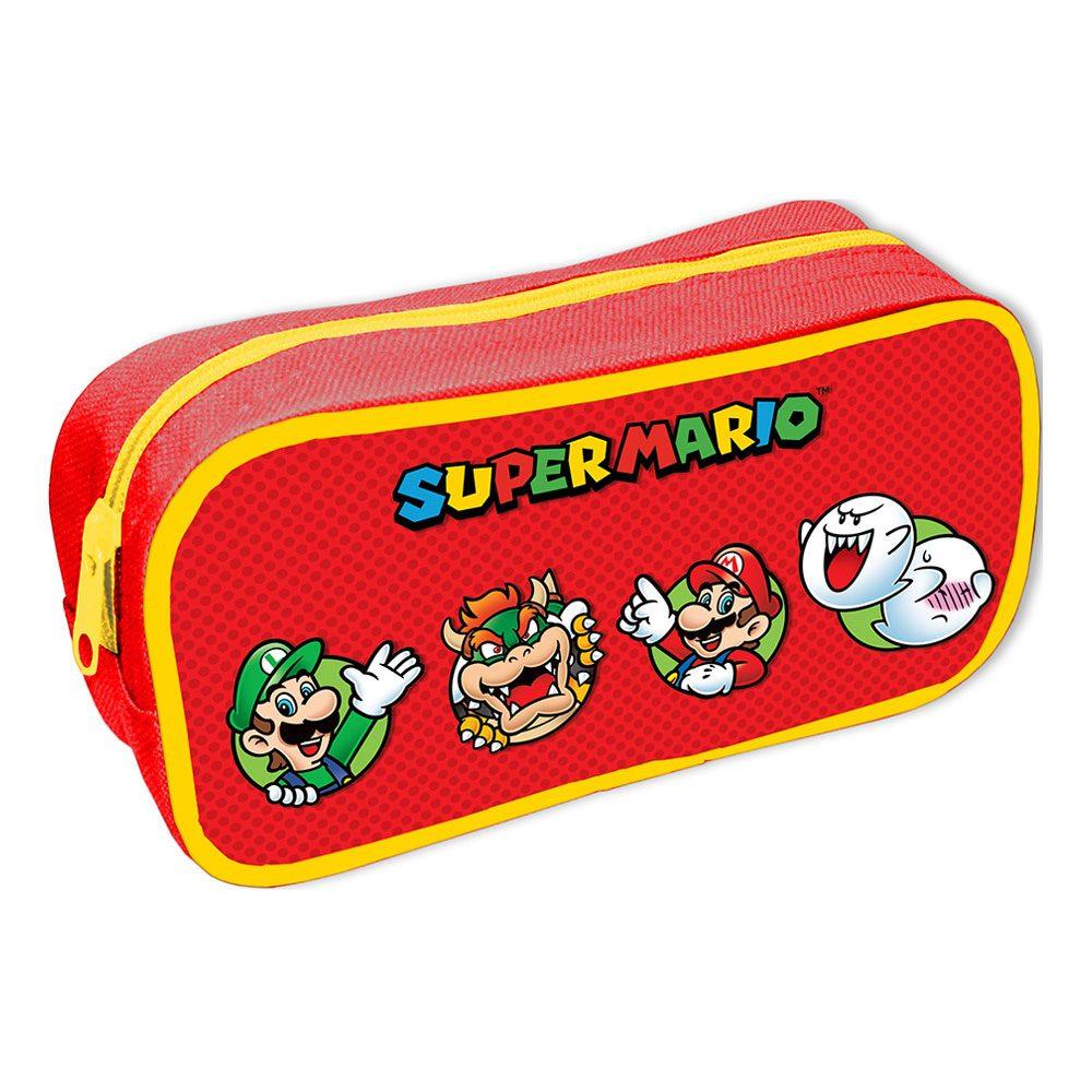 Super Mario Pencil Cases Character Circles Case (6)