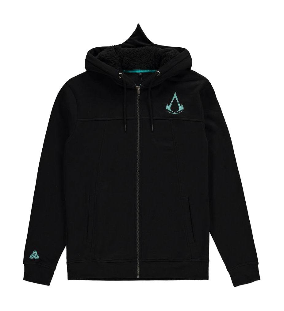 Assassin's Creed Valhalla Hooded Sweater Shield and Hammer Size S