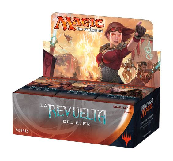 Magic the Gathering La revuelta del éter Booster Display (36) spanish