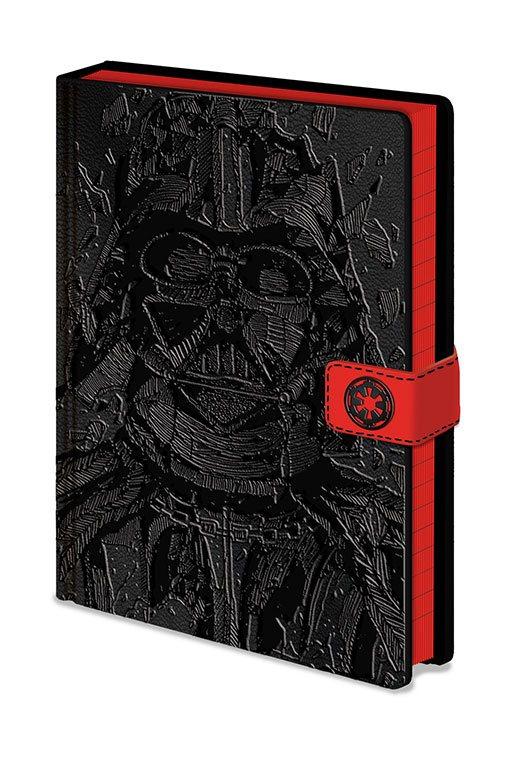 Star Wars Premium Notebook A5 Vader Art