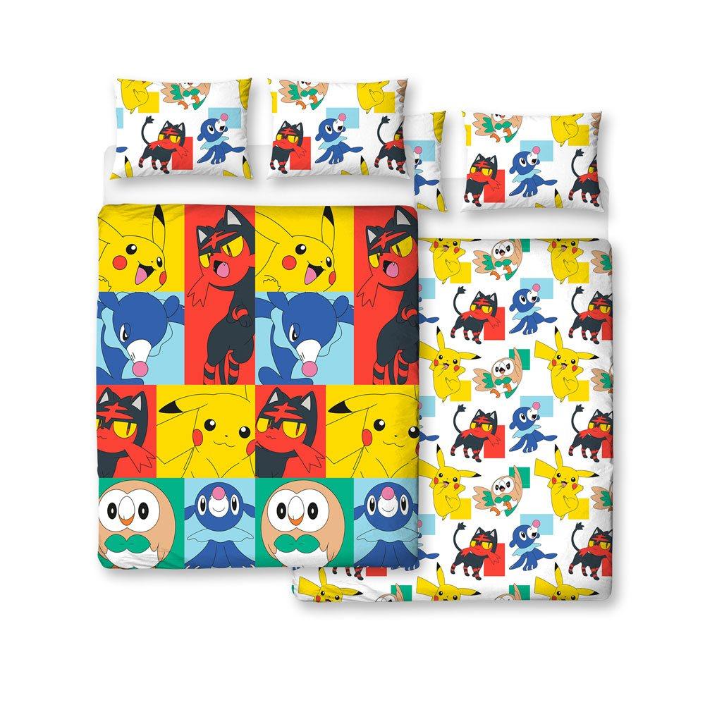 Pokemon Duvet Set Reversible Newbies 200 x 200 cm / 48 x 74 cm