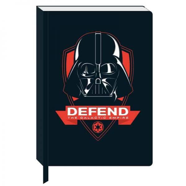 Star Wars A5 Notebook Darth Vader Icon