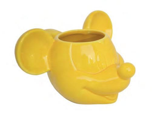 Mickey Mouse 3D Mug Yellow