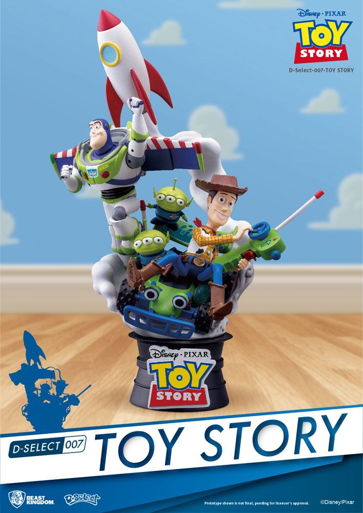 Toy Story D-Select PVC Diorama 15 cm