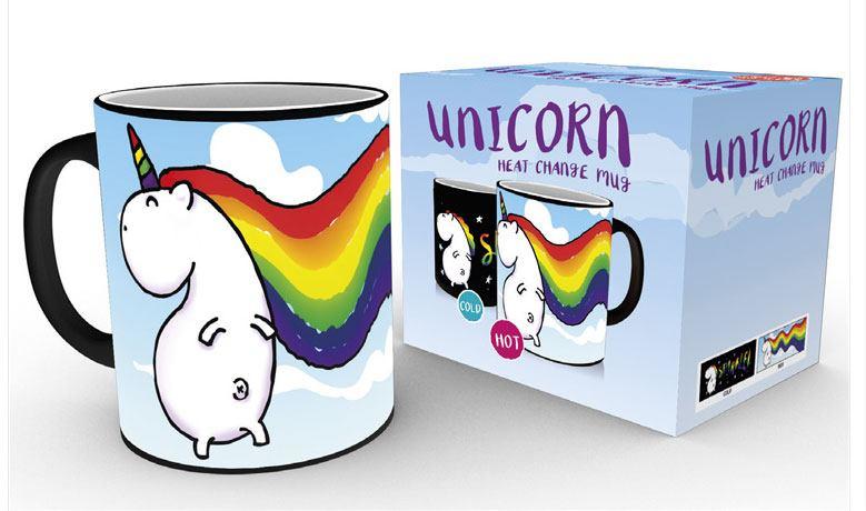 Unicorn Heat Change Mug Sparkle