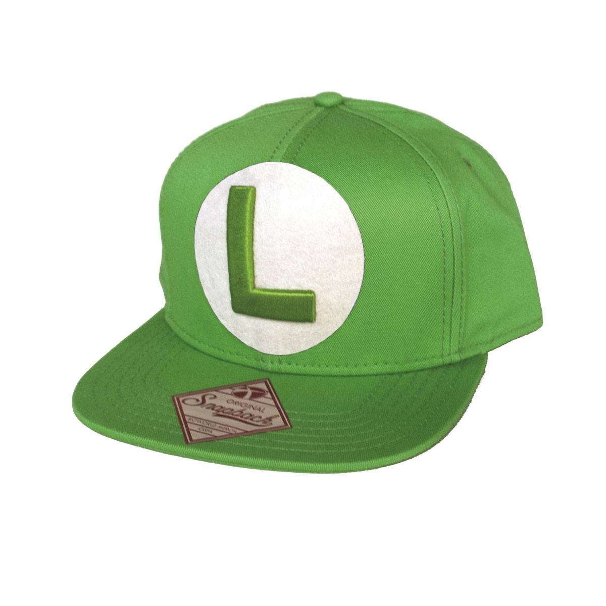 Nintendo Snapback Cap with L in Front (Groen)