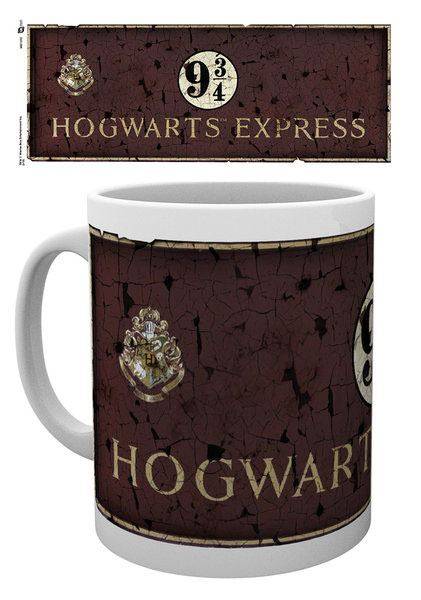 Harry Potter Mug Platform 9 3/4