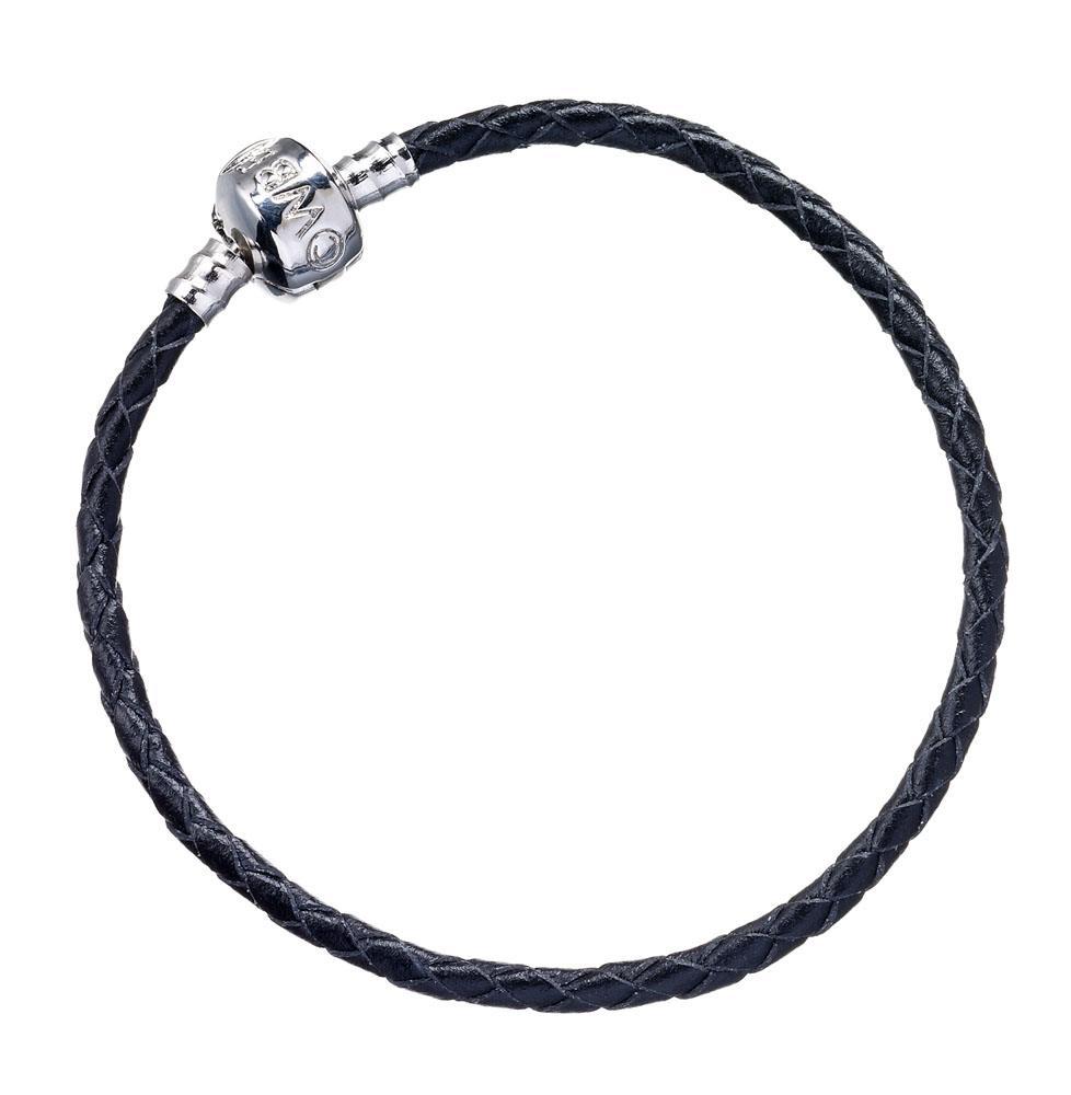 Harry Potter Slider Charm Leather Bracelet Size S