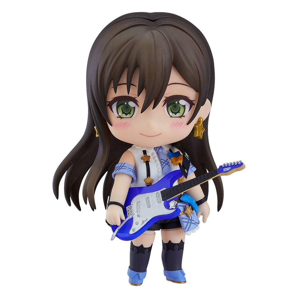 BanG Dream! Girls Band Party! Nendoroid Action Figure Tae Hanazono Stage Outfit Ver. 10 cm