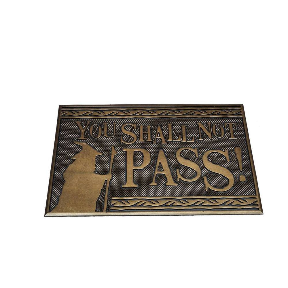 Lord of the Rings Doormat You Shall Not Pass 40 x 60 cm