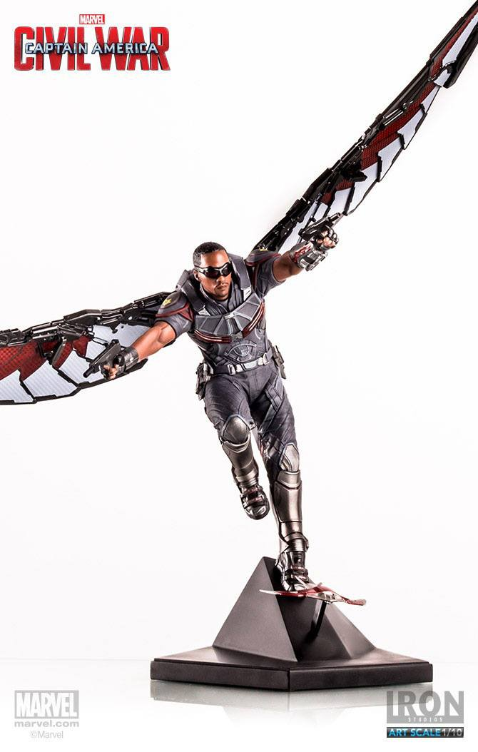 Captain America Civil War Statue 1/10 Falcon 33 cm