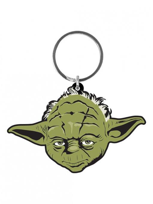 Star Wars Rubber Keychain Yoda 6 cm