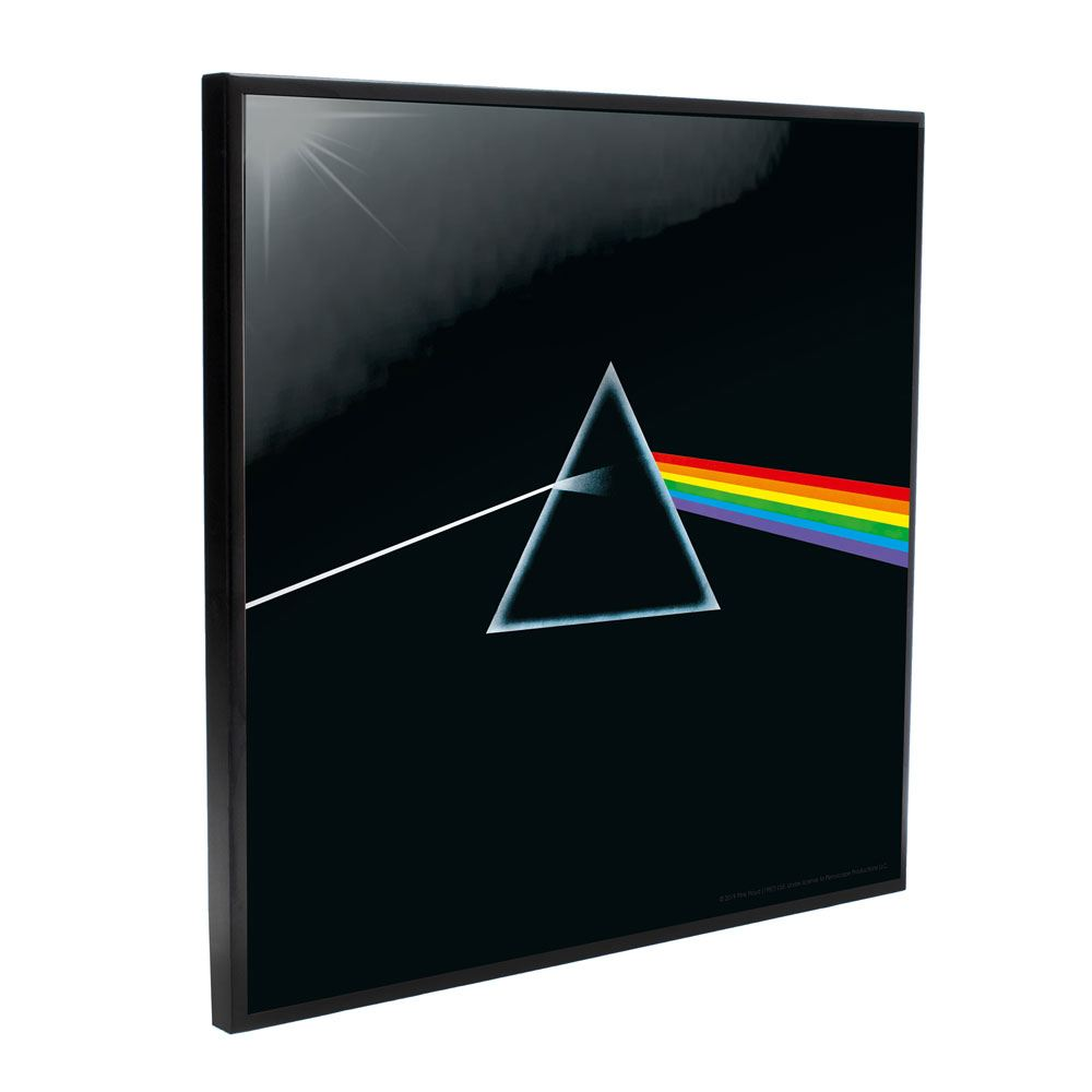 Pink Floyd Crystal Clear Picture Dark Side of the Moon 32 x 32 cm