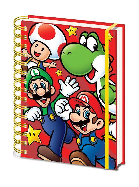 Super Mario Wiro Notebook A5 Run
