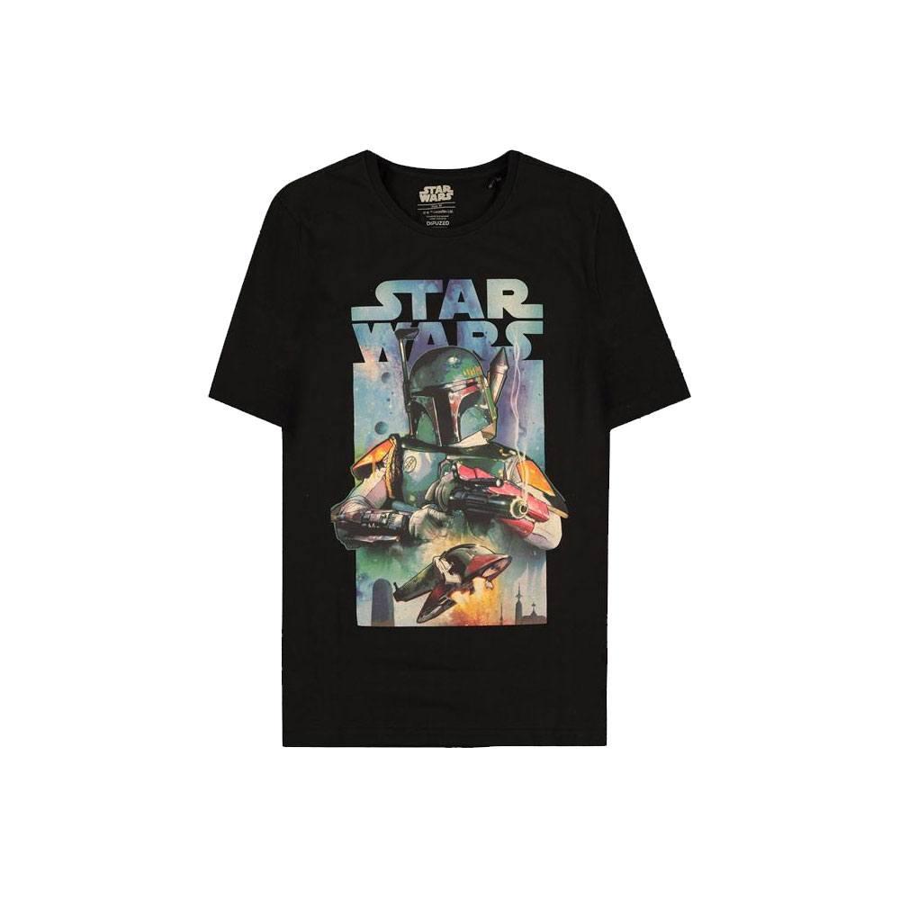 Star Wars T-Shirt Boba Fett Poster Size L