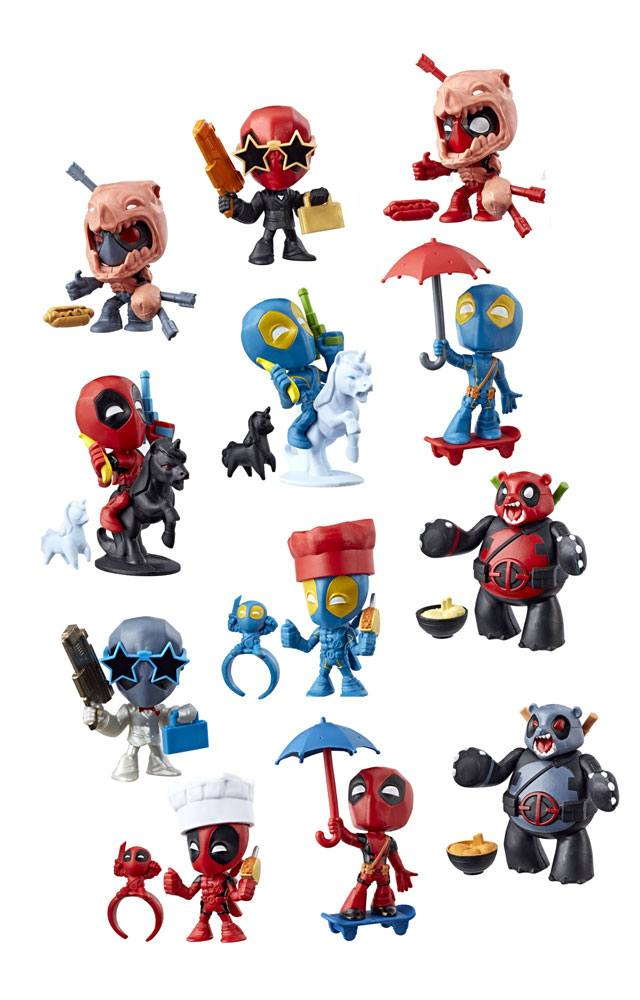 Deadpool Chimichangas Mini Figures Blind Bags 2018 Wave 1 Display (12)