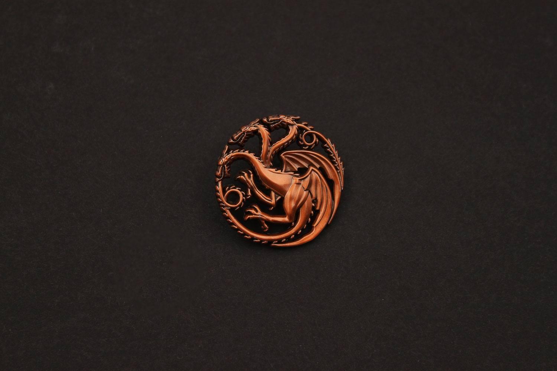 Game of Thrones Pin Badge House Targaryen